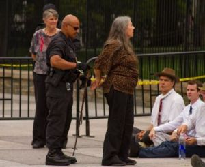 BostonCAN members arrested at White House