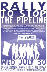 Pipeline Rally Poster